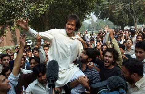 Imran Khan arrested