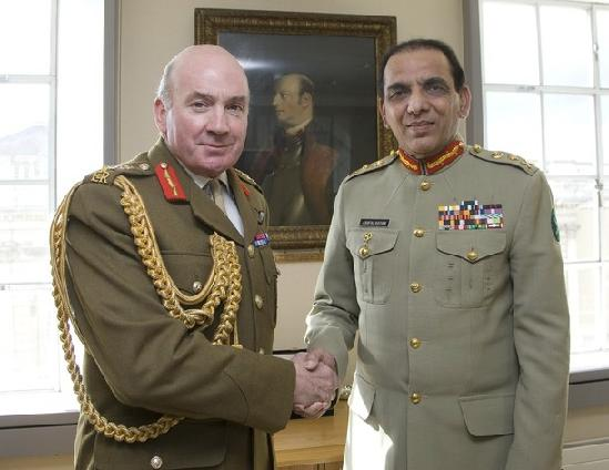 General Richard Dannatt & General Ashfaq Parvez Kayani